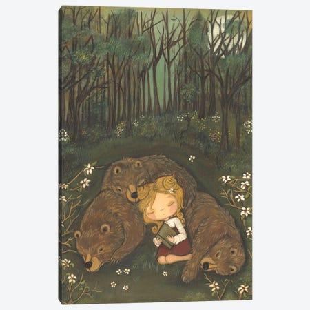 Goldie's Dream Canvas Print #KAK1} by Kelly Ann Kost Canvas Art