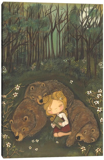 Goldie's Dream Canvas Art Print