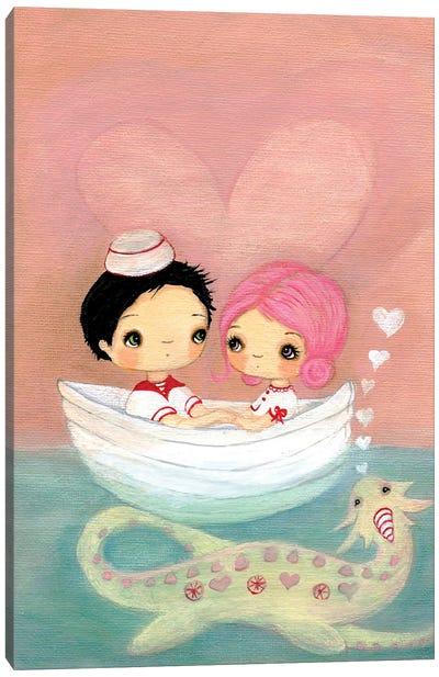 The Loveness Monster Canvas Art Print