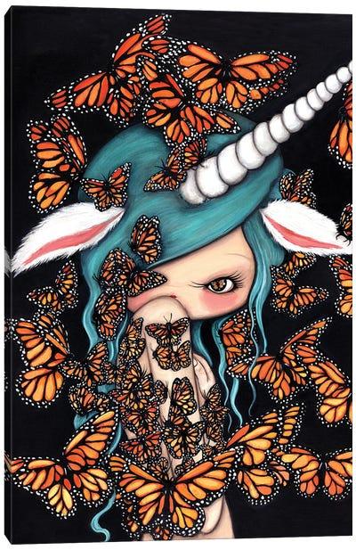 Monarch Unicorn Canvas Art Print