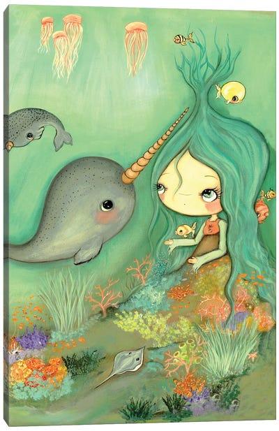 Under The Sea Canvas Art Print