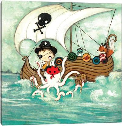 Pirate Canvas Art Print