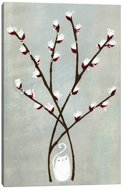 Sophie's Willow Canvas Art Print