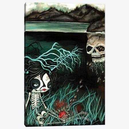 Love Story Canvas Print #KAK50} by Kelly Ann Kost Canvas Print
