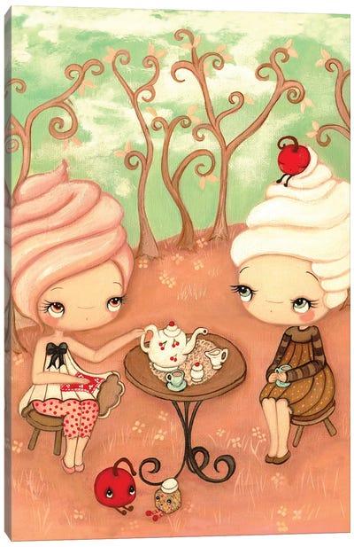 Tea and Cakes Canvas Art Print