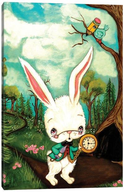 The White Rabbit Canvas Art Print