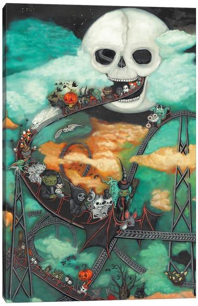 Halloween Moon Canvas Art Print