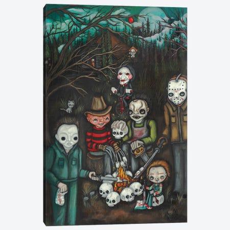 Camping Killers Canvas Print #KAK61} by Kelly Ann Kost Canvas Wall Art
