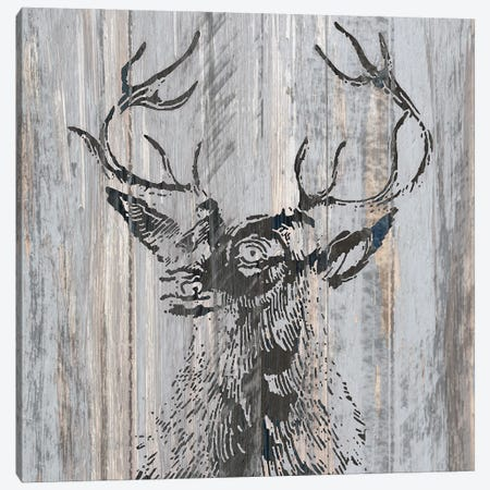 Cabin Rules II Canvas Print #KAL1012} by Kimberly Allen Art Print