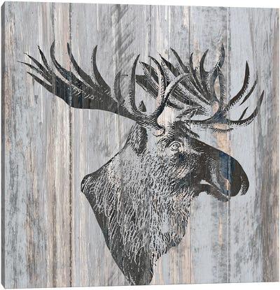 Cabin Rules III Canvas Art Print