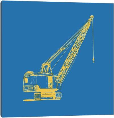 Construction I Canvas Art Print