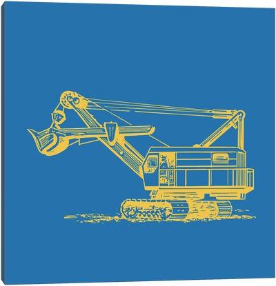 Construction III Canvas Art Print