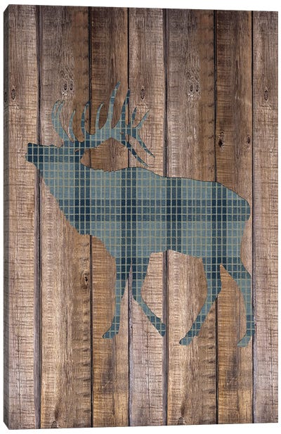 Elk Woods Canvas Art Print