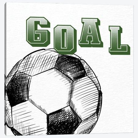 Goal Canvas Print #KAL1034} by Kimberly Allen Canvas Artwork