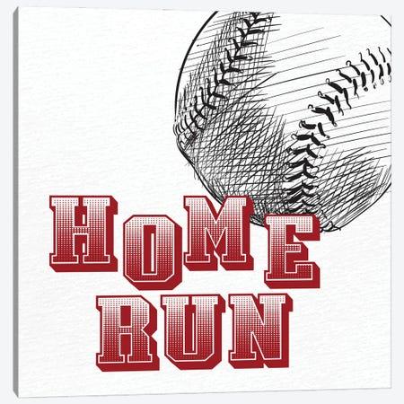 Home Run Canvas Print #KAL1042} by Kimberly Allen Canvas Art