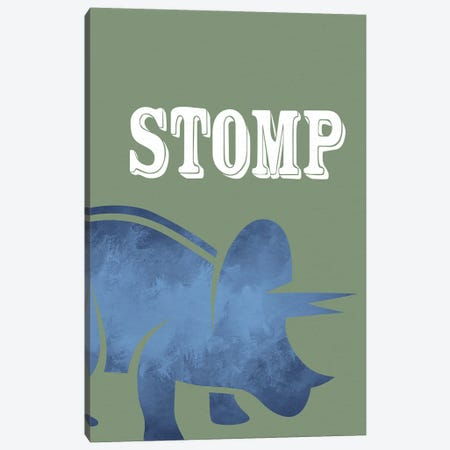 Stomp I Canvas Print #KAL1096} by Kimberly Allen Canvas Artwork