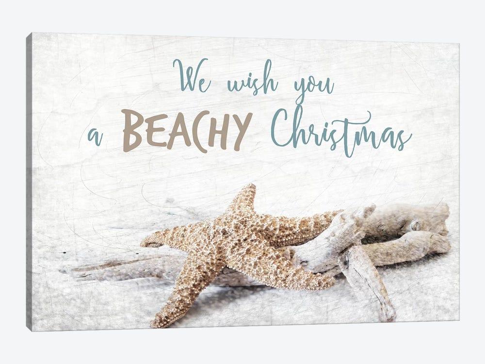 Beachy Christmas by Kimberly Allen 1-piece Canvas Print