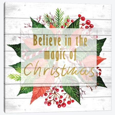 Believe In The Magic 3-Piece Canvas #KAL111} by Kimberly Allen Canvas Artwork