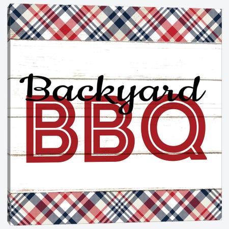Backyard BBQ Canvas Print #KAL1128} by Kimberly Allen Canvas Print