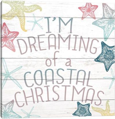 Coastal Christmas Canvas Art Print
