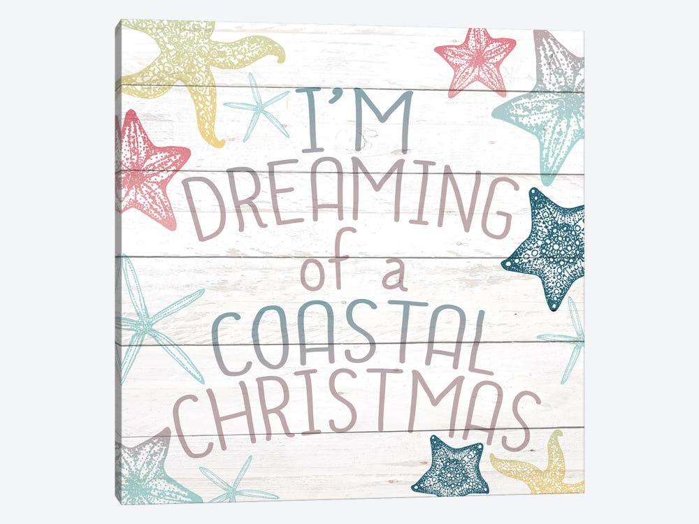 Coastal Christmas by Kimberly Allen 1-piece Canvas Artwork