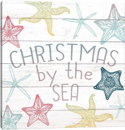 Christmas By The Sea Canvas Art Print