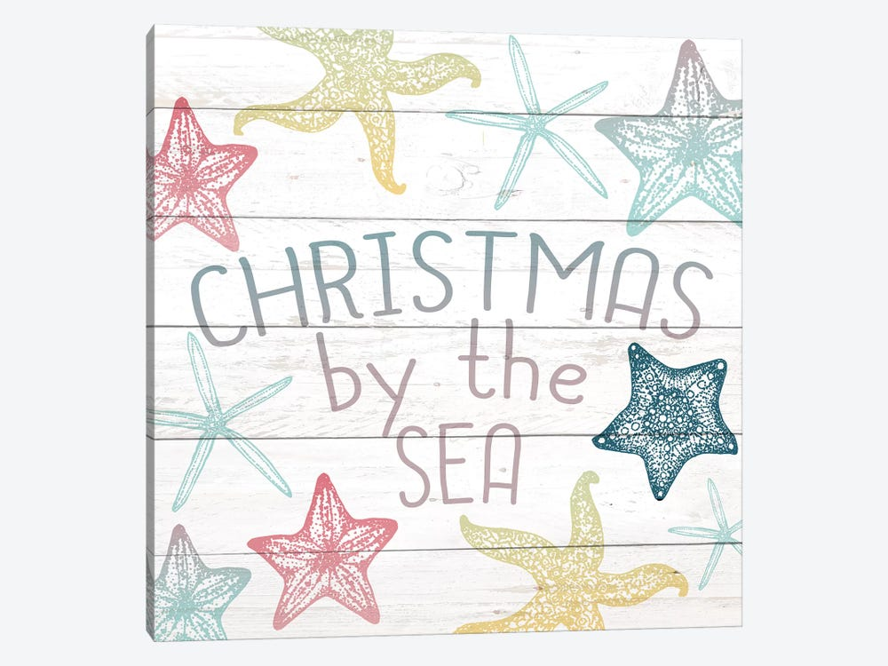 Christmas By The Sea by Kimberly Allen 1-piece Canvas Artwork