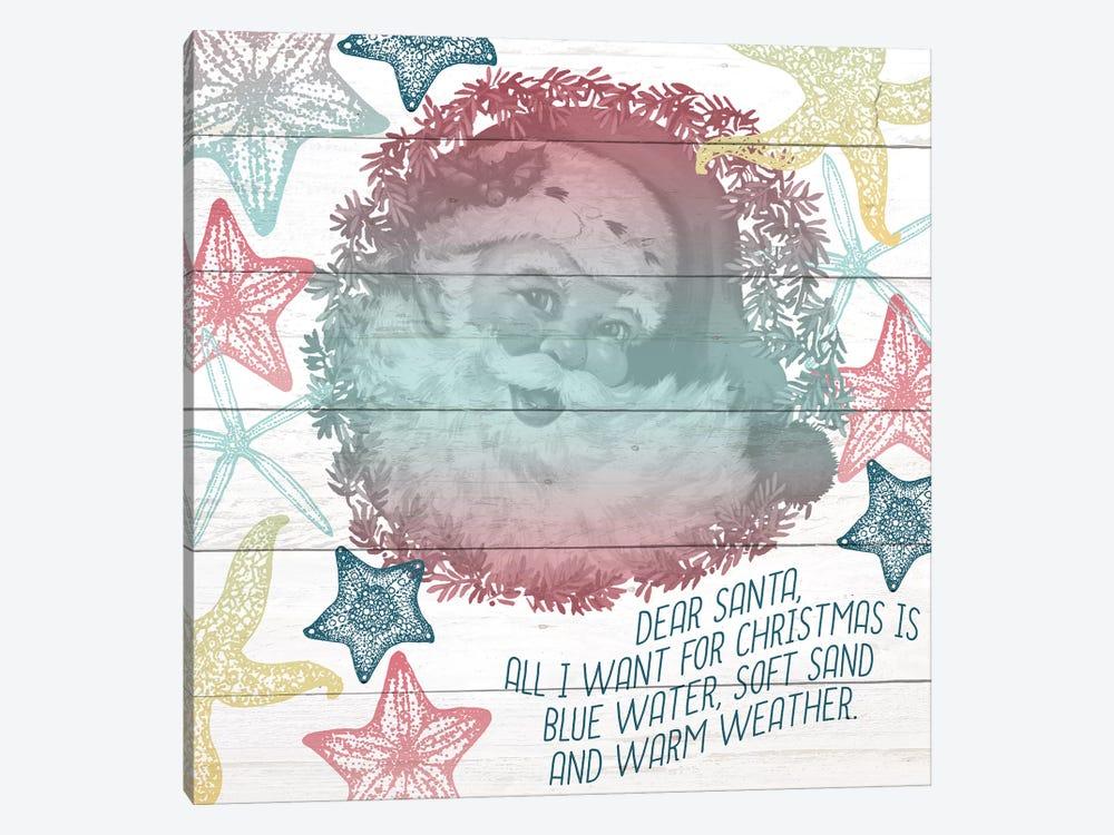 Dear Santa by Kimberly Allen 1-piece Canvas Wall Art
