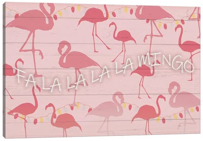 Fa La La La La Mingo Canvas Art Print