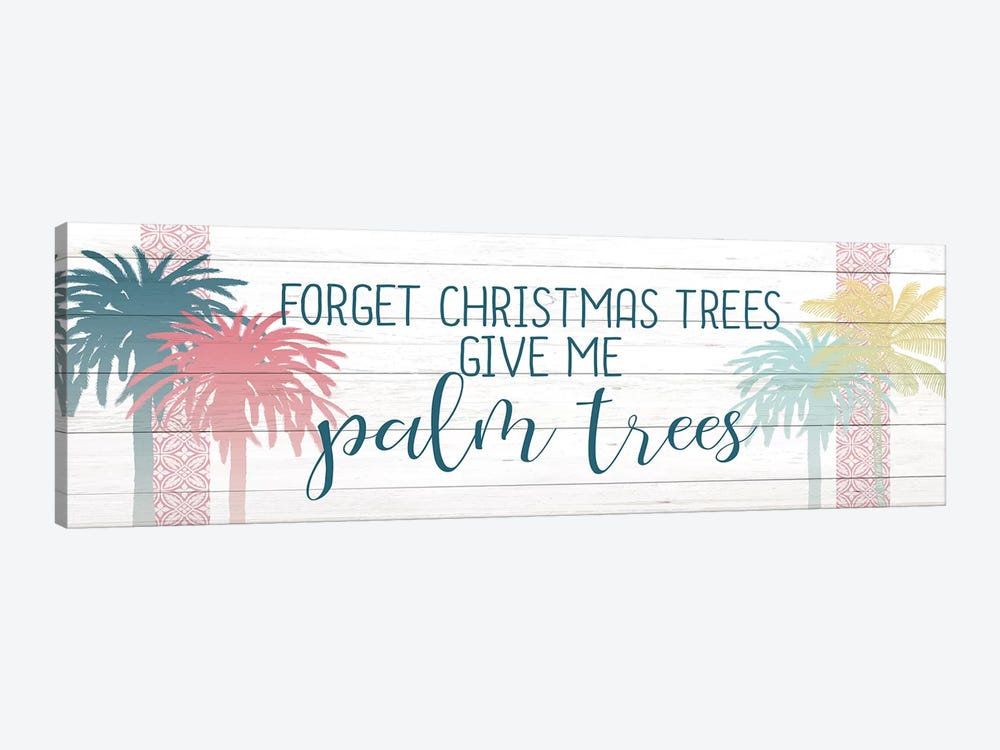 Forget The Christmas Trees by Kimberly Allen 1-piece Canvas Print