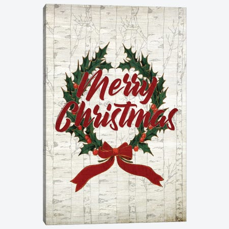 Happy Holidays III Canvas Print #KAL125} by Kimberly Allen Canvas Wall Art