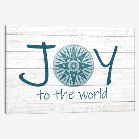 Joy Compass Canvas Print #KAL128} by Kimberly Allen Canvas Print