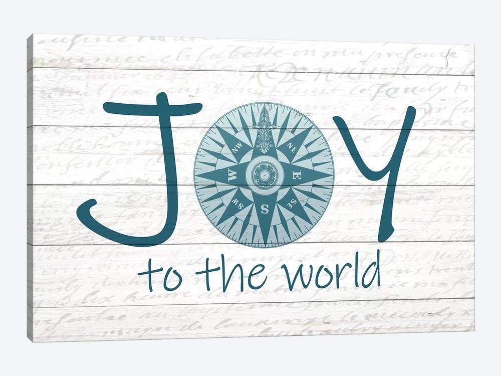 Joy Compass by Kimberly Allen 1-piece Canvas Wall Art