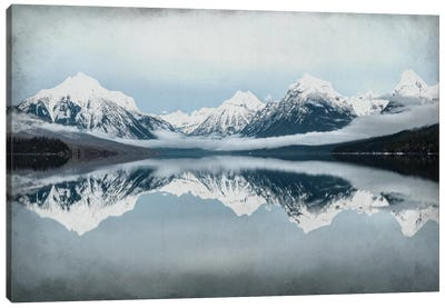 A Mountain Reflects Canvas Art Print