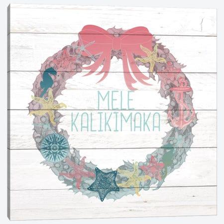 Mele Kalikimaka Canvas Print #KAL133} by Kimberly Allen Canvas Artwork