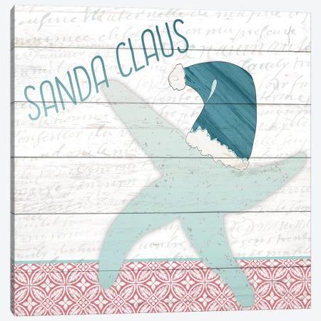 Sanda Claus 3-Piece Canvas #KAL139} by Kimberly Allen Canvas Wall Art