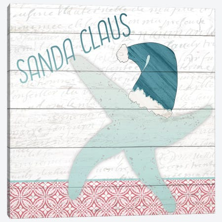 Sanda Claus Canvas Print #KAL139} by Kimberly Allen Canvas Wall Art