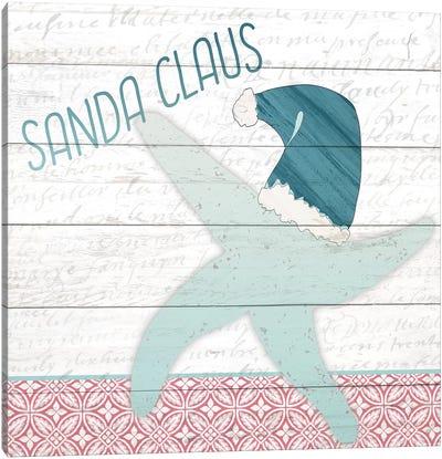 Sanda Claus Canvas Art Print