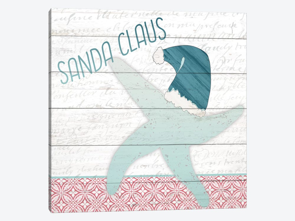 Sanda Claus by Kimberly Allen 1-piece Canvas Wall Art
