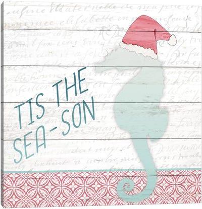 Tis The Sea-Son Canvas Art Print