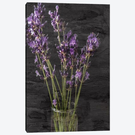 Lavender Jar I 3-Piece Canvas #KAL163} by Kimberly Allen Canvas Art Print