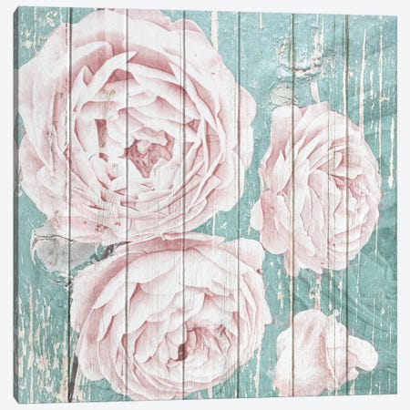 On Teal I Canvas Print #KAL166} by Kimberly Allen Canvas Wall Art