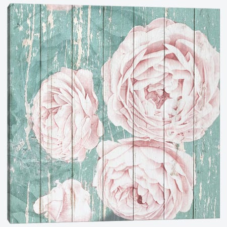 On Teal II Canvas Print #KAL167} by Kimberly Allen Canvas Wall Art
