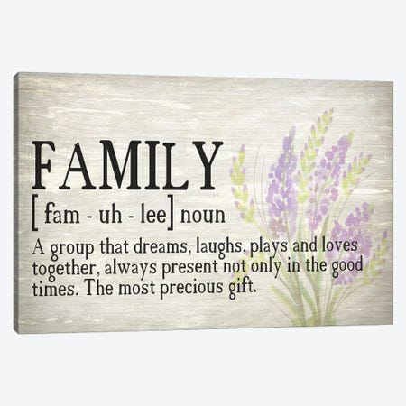 A Group That Dreams Canvas Print #KAL178} by Kimberly Allen Canvas Artwork