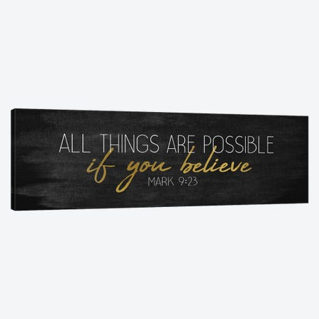 All Things Panel Canvas Print #KAL179} by Kimberly Allen Canvas Artwork