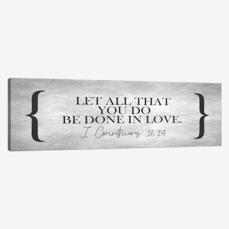 Be Done In Love Canvas Print #KAL180} by Kimberly Allen Canvas Art Print
