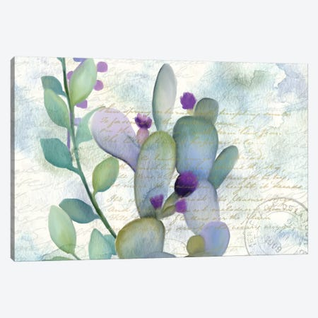 Watercolor Floral I Canvas Print #KAL20} by Kimberly Allen Canvas Print