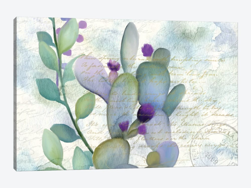 Watercolor Floral I by Kimberly Allen 1-piece Canvas Wall Art