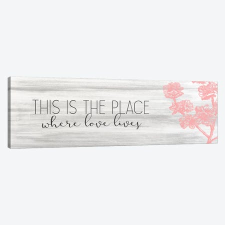 This Is The Place Canvas Print #KAL219} by Kimberly Allen Canvas Print