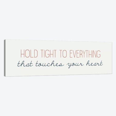 Touches Your Heart Canvas Print #KAL220} by Kimberly Allen Canvas Art